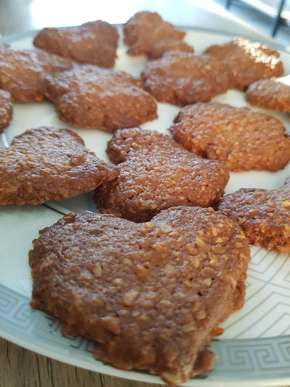 yulaflı, zencefilli yılbaşı kurabiyesi
