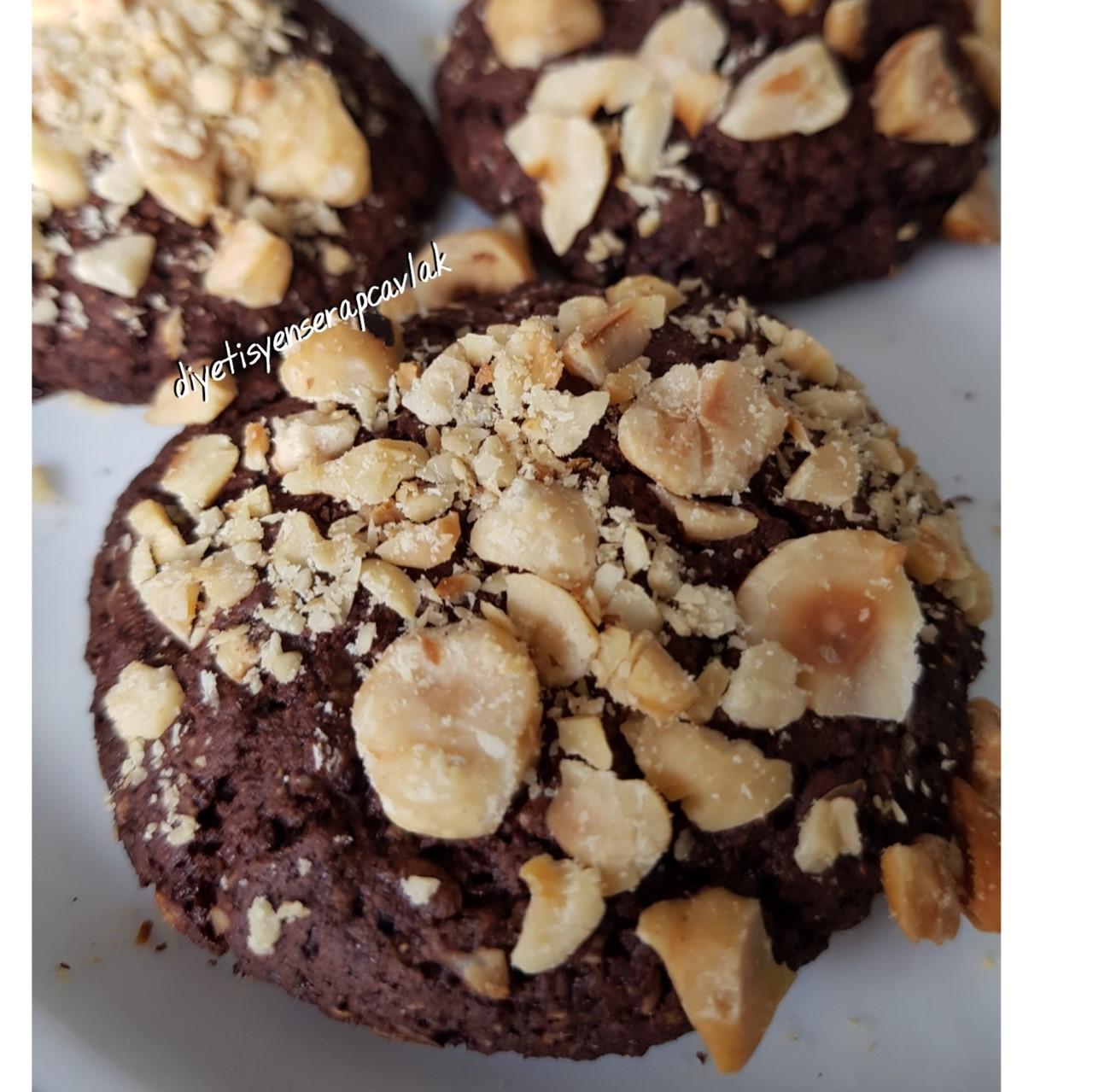 kakaolu yulaflı kurabiye